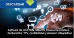 Software de GESTIÓN,  GRATIS, totalmente intuitivo.  (facturación, TPV, contabilidad y  almacén integrados )